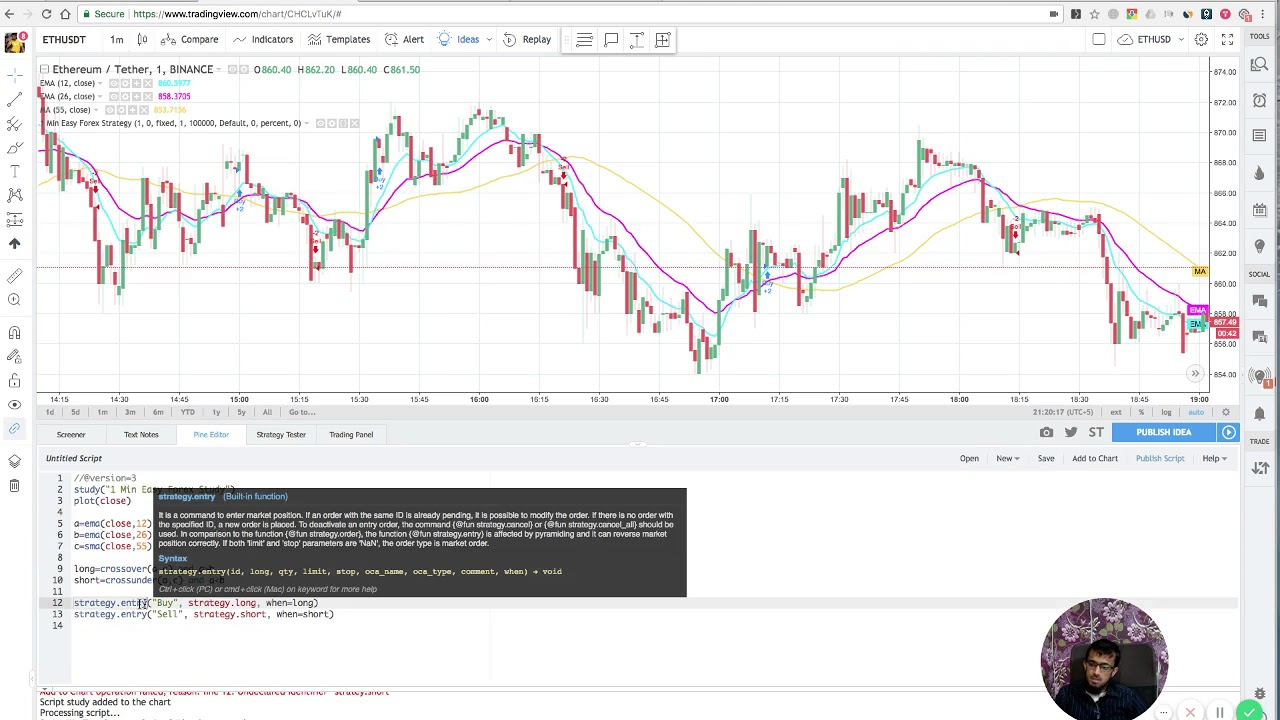 Tradingview Pine Script Strategy