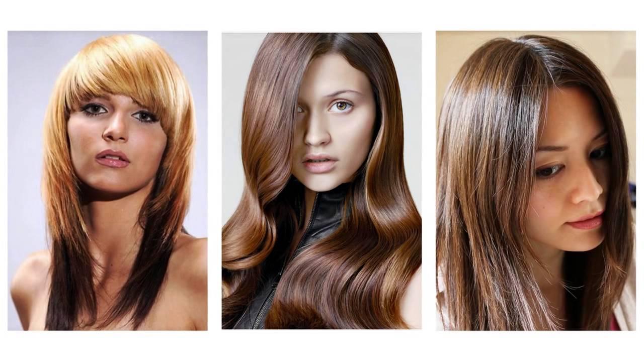 Fryzury Długie Włosy Z Grzywką