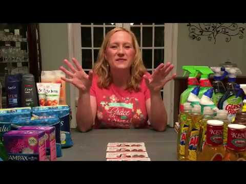 How To Grocery Shop Using Coupons GIVEAWAY CLOSED!