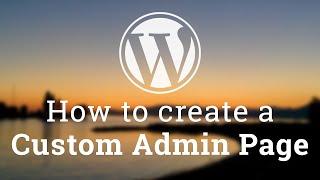 Özel Yönetici Sayfası oluşturma bölüm 2 - WordPress Tema Geliştirme -