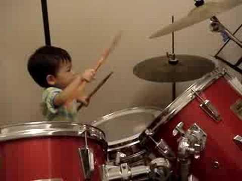 23 month Drummer