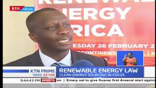 New policies on licensing renewable energy agencies are set to become law