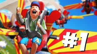 Planet Coaster - 1 - Парк мечты!