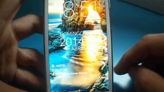 Aplicación pantalla de bloqueo del LG® Optimus