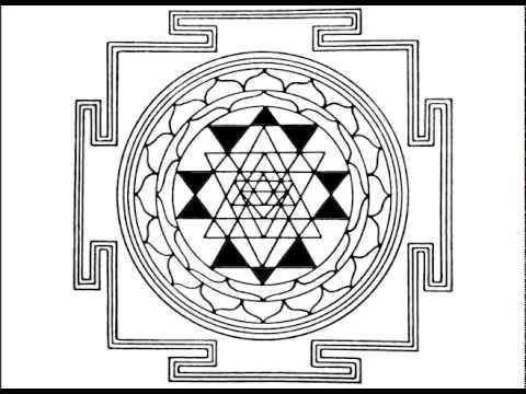 Yantra and Mantra Sri Vidya Tripura Tantra Yoga Meditation