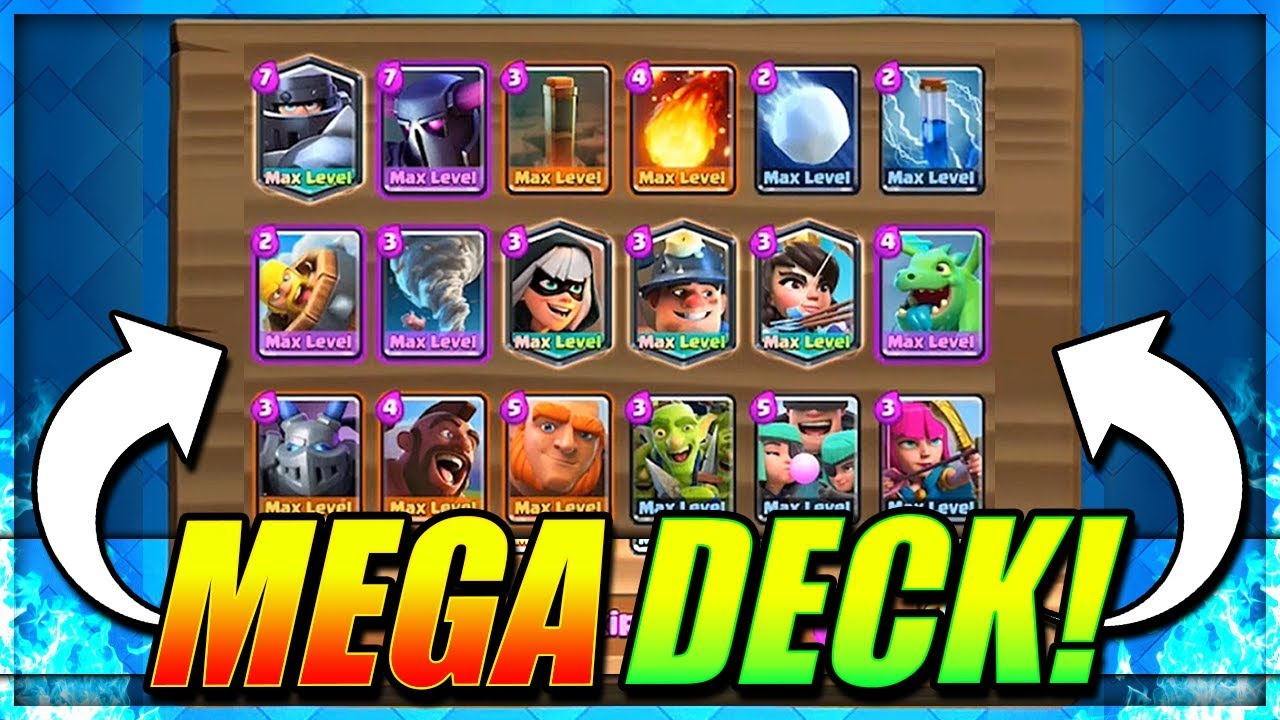 Best Mega Deck 9 Wins First Try Mega Deck Challenge Clash