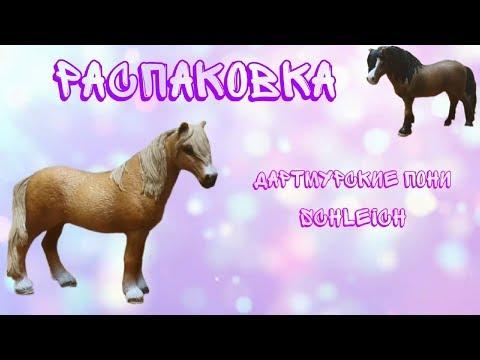 Распаковка посылки Schleich/Дартмурские пони
