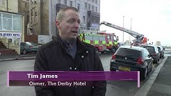 Blaze-hit Blackpool hotel given warning hours before fire