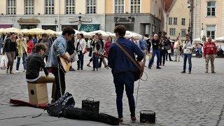 Around The Sun - Intro (THE XX cover) Tallinn Old City
