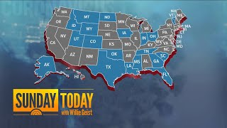 Almost 20 States Set To Partially Reopen As US Nears 1,000,000 Coronavirus Cases | Sunday TODAY