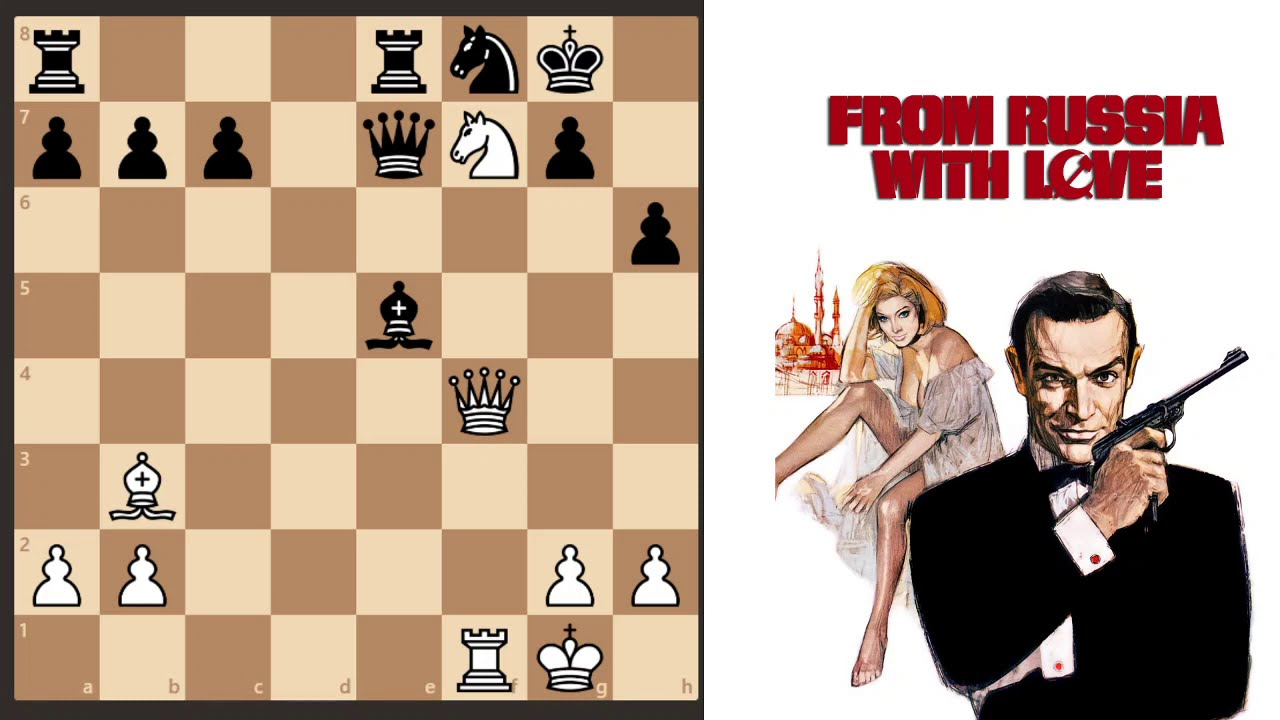 Download James Bond : From Russia With Love - Chess Scene