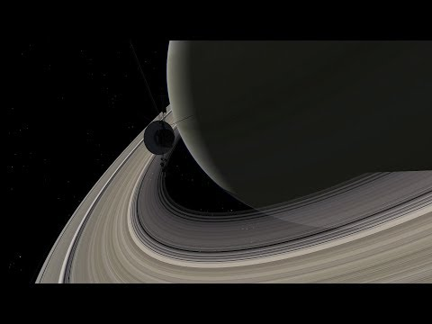 Voyager 2 Sweeps Past Saturn - August 26, 1981