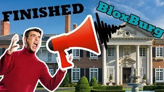 [MANSION] Building Step by Step! [LAST EPISODE] Roblox - Bloxburg (369k )