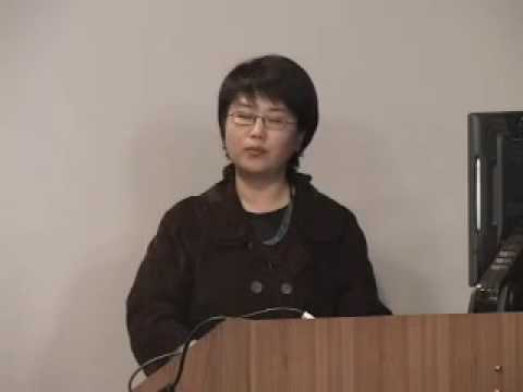 GMRC presents Xinyu Lu on March 25, 2009
