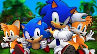 Sonic Generations - Pelicula completa en Español - PC [4k 60fps]