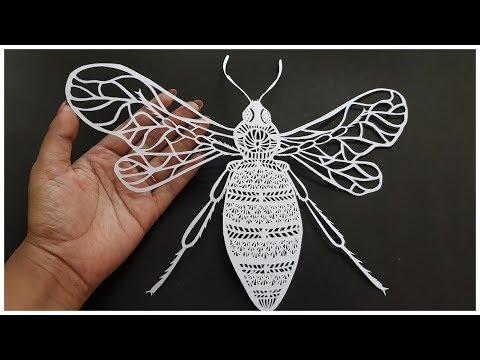 paper cutting art   #1   Kalon In Art