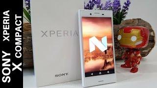 Sony Xperia X Compact recensione   Nougat Pollicino!