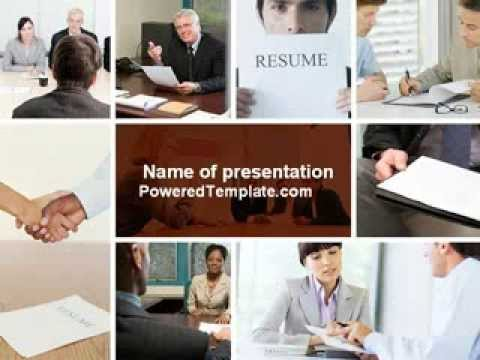 Job interview powerpoint template by poweredtemplate youtube job interview powerpoint template by poweredtemplate toneelgroepblik Images