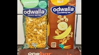 Confections From California: Odwalla White Chocolate Macadamia Nut & Banana Nut And One Bar