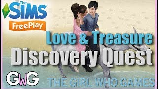 The Sims Freeplay- Love and Treasure Quest
