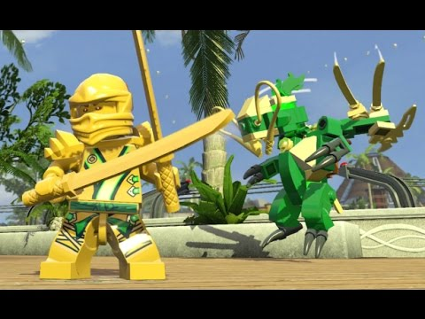 Lego Dimensions Lloyd S Golden Dragon Fully Upgraded All 3 Versions Showcase Youtube