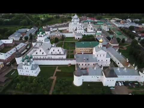 Стрим с квадрокоптера - Ростов Великий