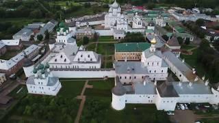 Стрим с квадрокоптера   Ростов Великий