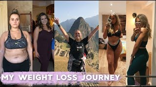 MY FITNESS JOURNEY. ?? 1 YEAR WEIGHT LOSS TRANSFORMATION | HOW I LOST 50 POUNDS | EmmasRectangle