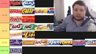 Chocolate Bar Tier List