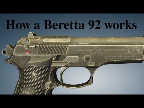 How a Beretta 92 works