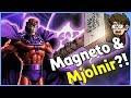 Can Magneto Lift Thor s Hammer Mjolnir X Men