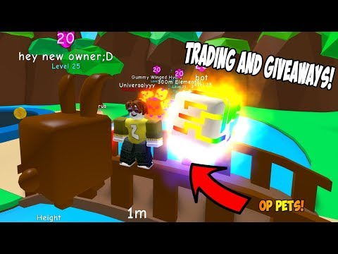 Giveaways And Trading For OP Pets! ! (Only Legendary!) - Roblox