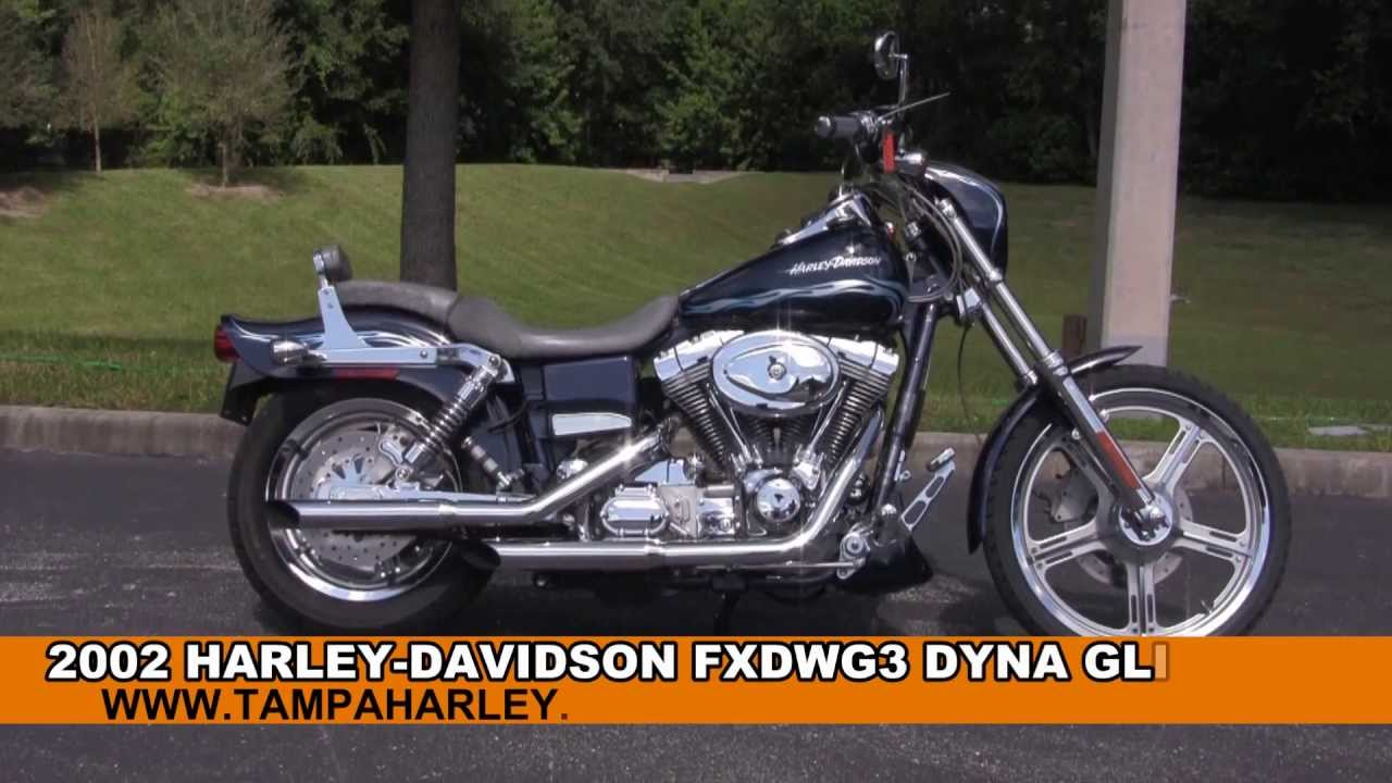 Used Cvo For Sale Or >> Used 2002 Harley Davidson FXDWG3 Wide Glide CVO Motorcycle for sale - YouTube