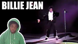 Michael Jackson - Billie Jean Live Wembley 1988 (REACTION!!!)