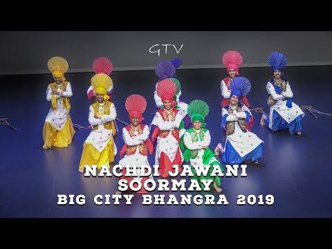 Nachdi Jawani Soormay – Big City Bhangra and Giddha Competition 2019