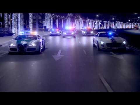 The Dubai Police Supercar Fleet