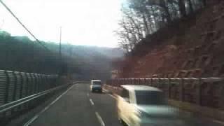 トラックの車窓とオバカなひとり語り 盛岡~秋田、国道46号