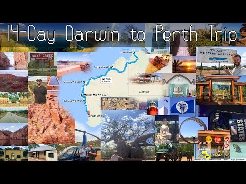 14 Day Darwin to Perth Roadtrip Itinerary with Horizontal Falls Tour, Bungle Bungles & Hutt River