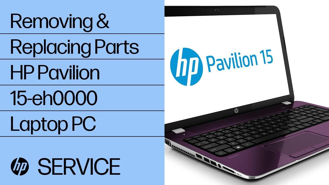 Service Teardown: HP Pavilion 15-eh0000 Laptop PC | HP Computer Service | HP