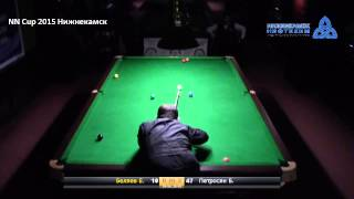 FINAL NN Cup 2015 Snooker / Petrosyan B vs Belyaev E