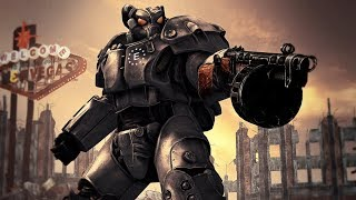 X-01 Remnants Power Armor mod Fallout New Vegas!!