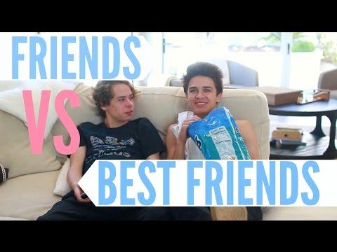 Friends Vs Best Friends! | Brent Rivera