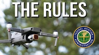 Rules for Drone Hobbyists - 2019