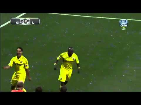 Dominic Oduro scores on bad back pass against Sporting Kansas City