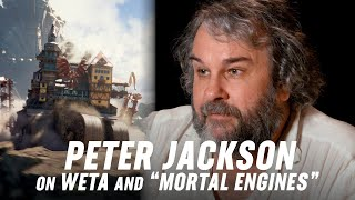 "Weta Digital's Next Evolution: Cities Come to Life in Peter Jackson's ""Mortal Engines"""