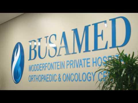 Walk through of the new BUSAMED Modderfontein Hospital