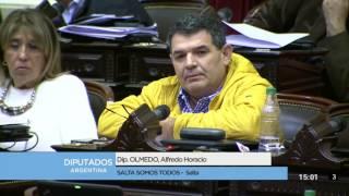 Diputado Olmedo Alfredo Horacio - Sesión 21-06-2017