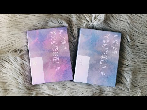 [UNBOXING] BTS Love Yourself In New York & Europe DVD Sets