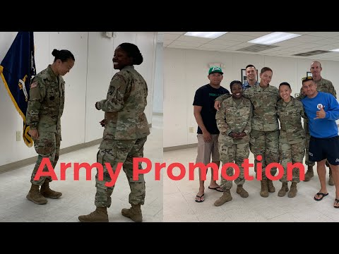 Army Promotion!