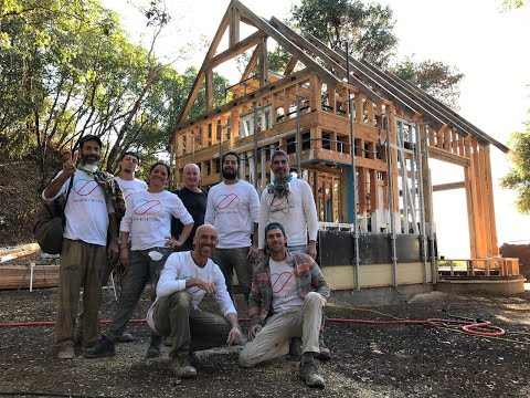 Building Off the Grid – Hemp House